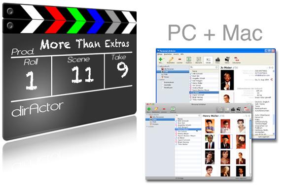 Agentursoftware für PC und Mac